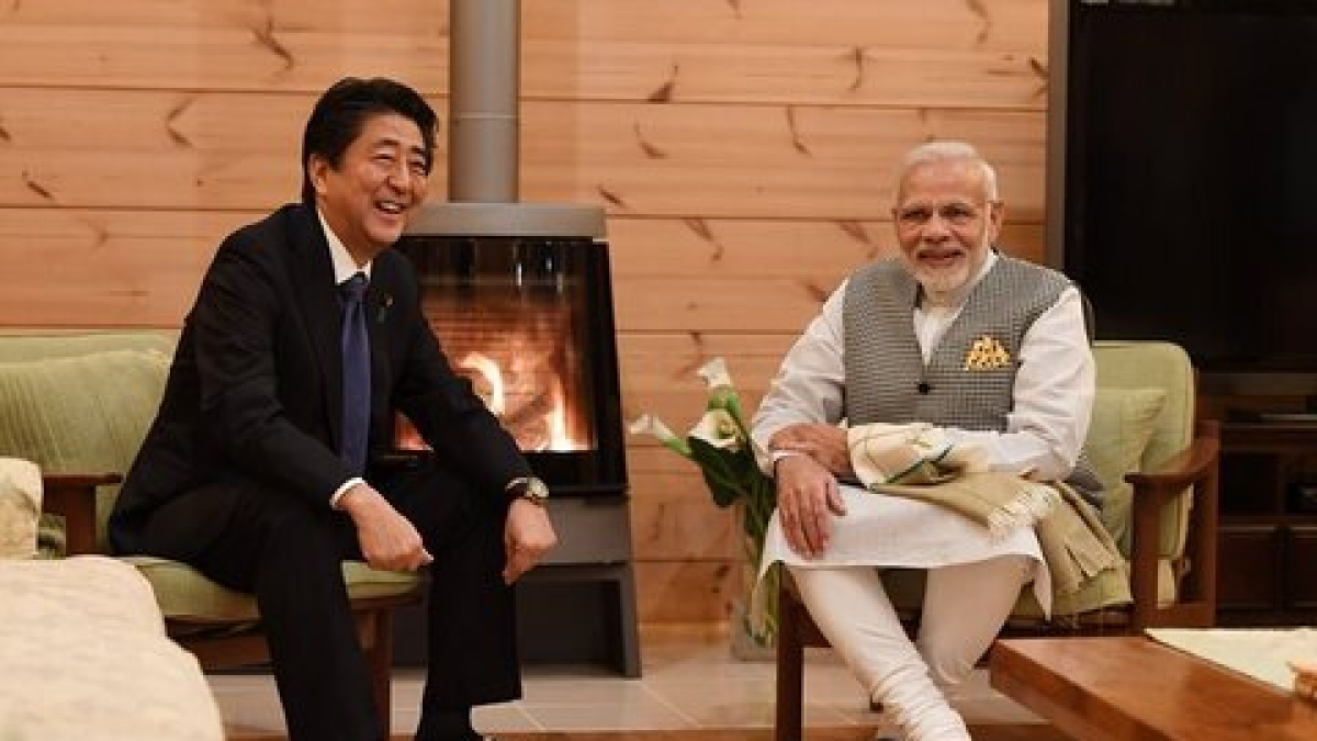 When a Twitter user took great umbrage to 'Abe, Modi'