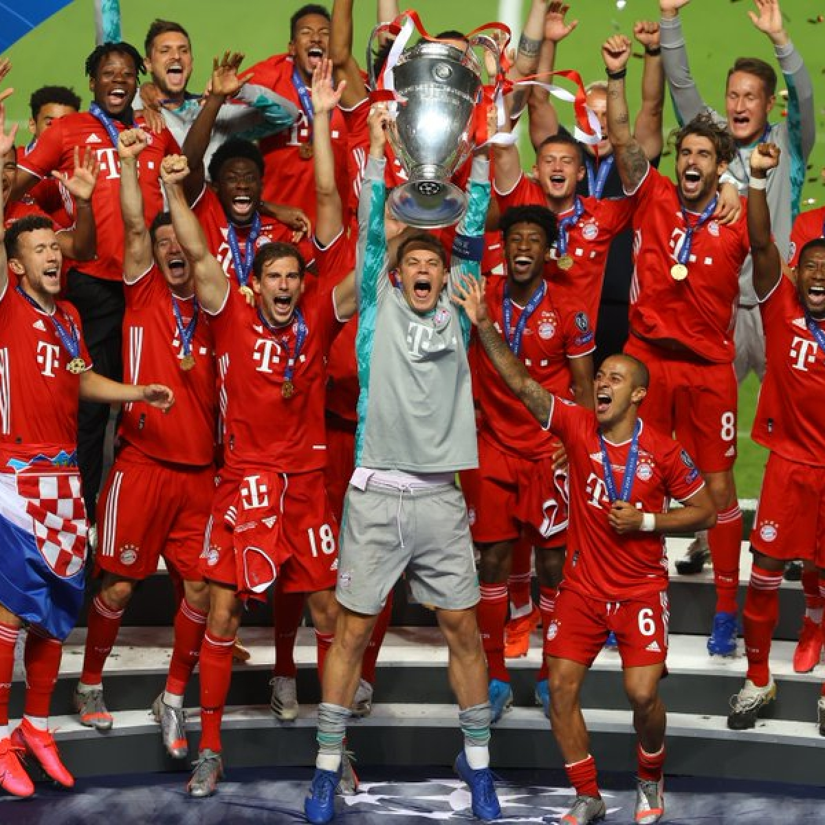 UEFA Champions League highlights: Bayern complete treble with 1-0 win over PSG in tournament finals - check out key stats from the game