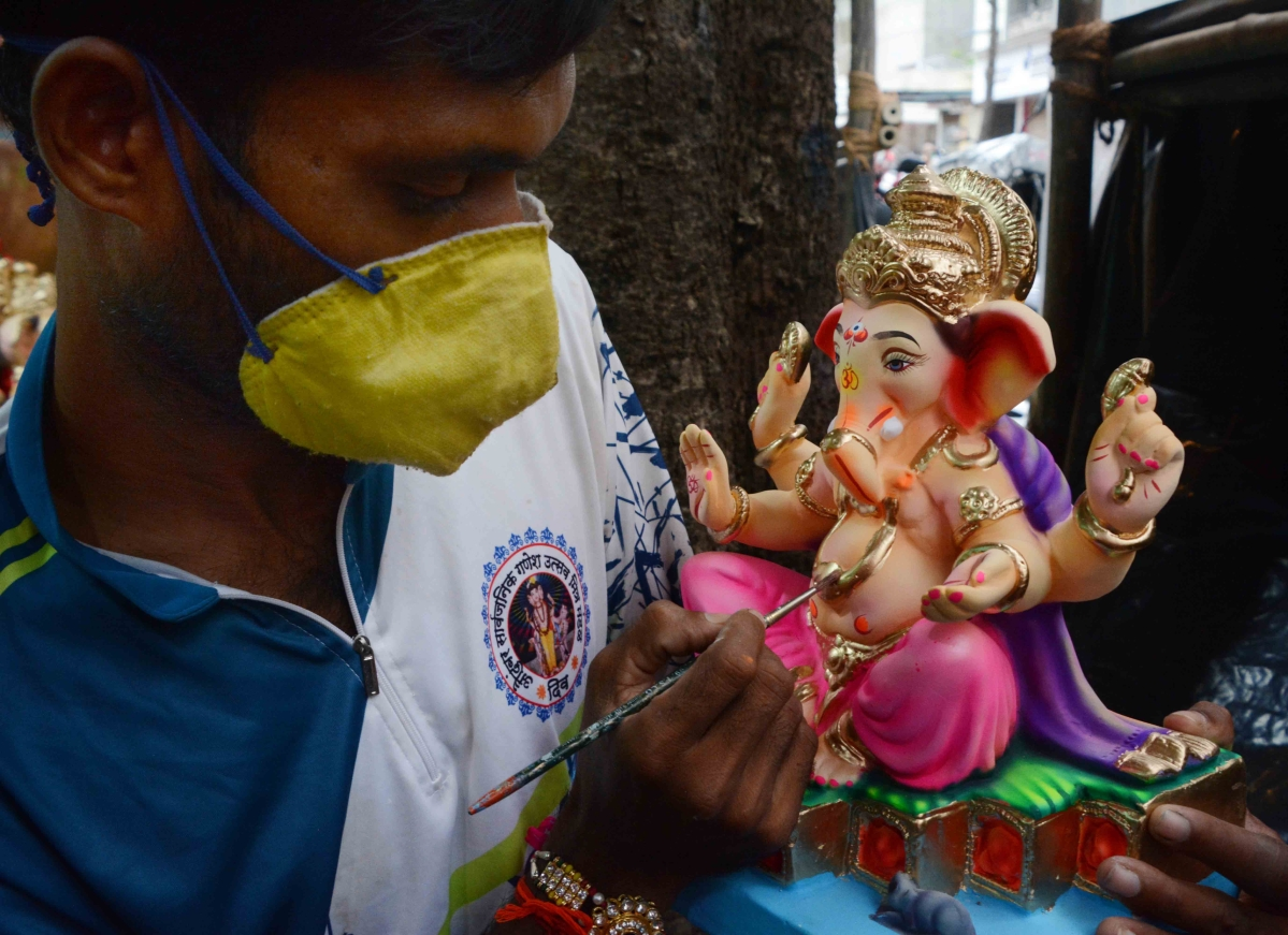 Ganeshotsav 2020: NMMC creates 135 artificial ponds for immersion of idols