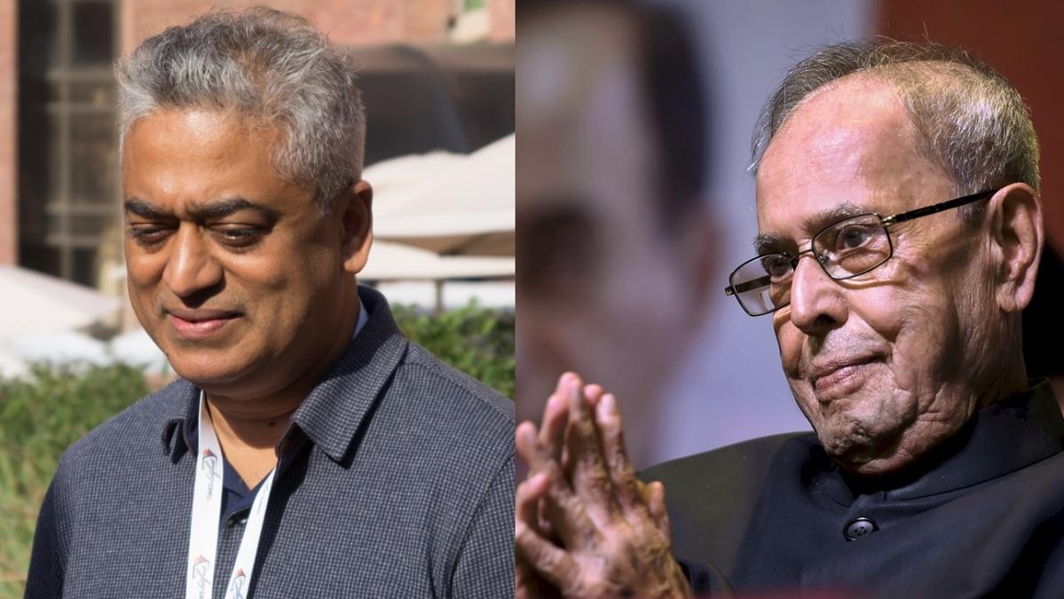 What happened after Pranab Mukherjee 'scolded' Rajdeep Sardesai?