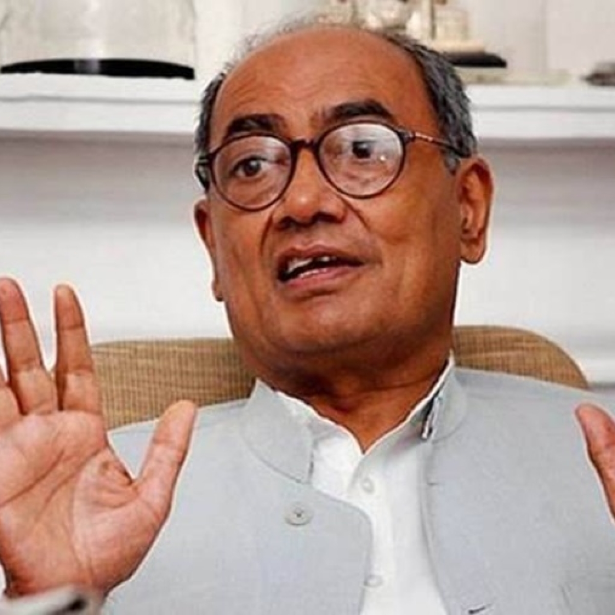 After embargo on 101 defence items, Digvijaya Singh wonders if Rafale will be 'manufactured in India'