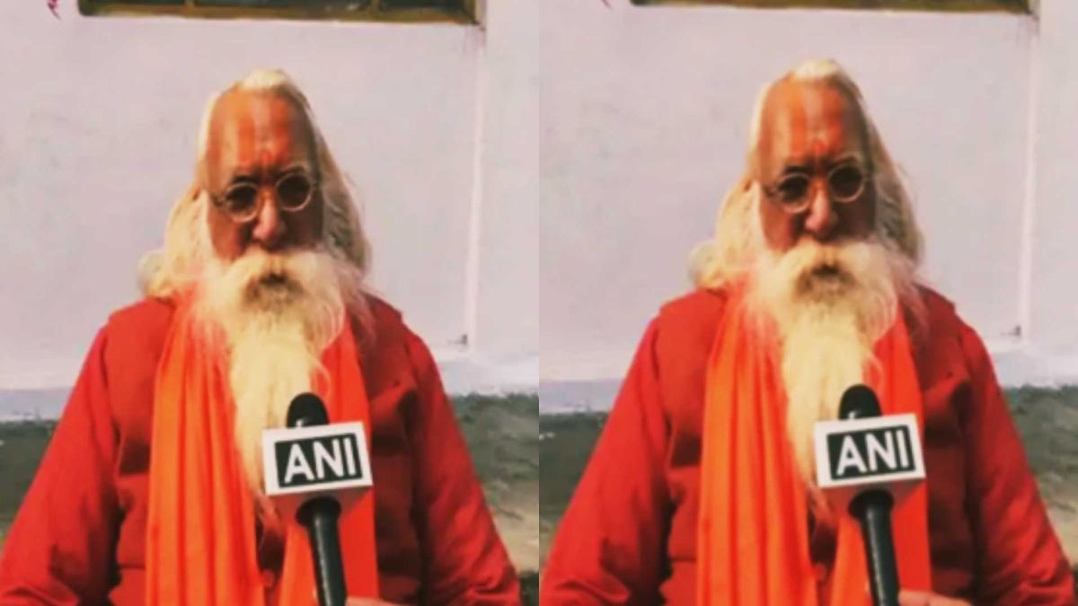Ram Janmbhoomi Trust head Mahant Nritya Gopaldas