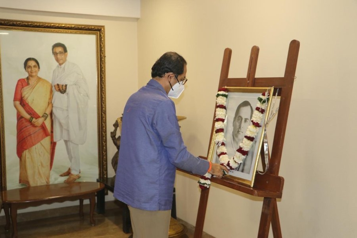 Rajiv Gandhi Birth Anniversary: Maharashtra CM Uddhav Thackeray pays tribute to former PM