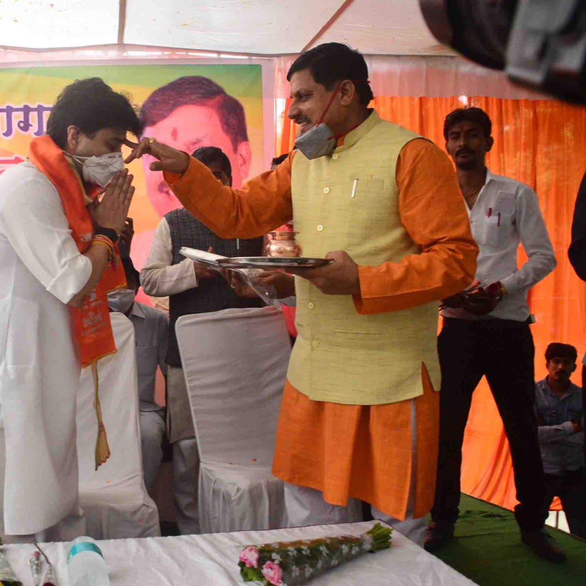 MP higher education minister Mohan Yadav tests Corona positive, admitted to SAIMS in Indore