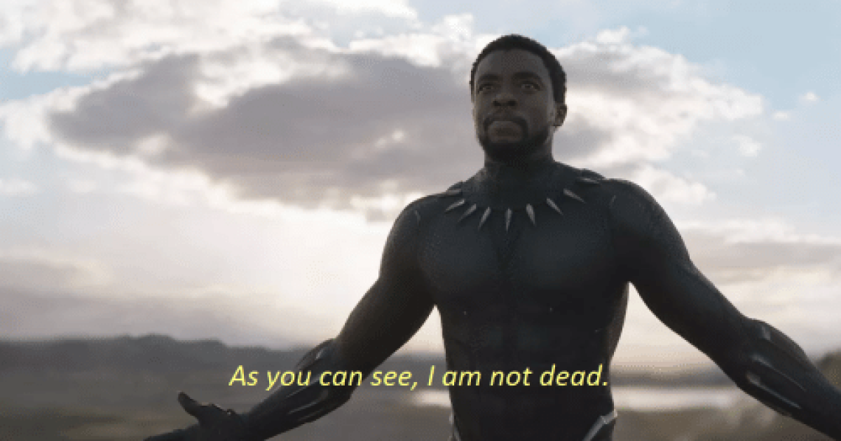 'I am not dead': Iconic Black Panther scene where Chadwick Boseman's T'Challa returns