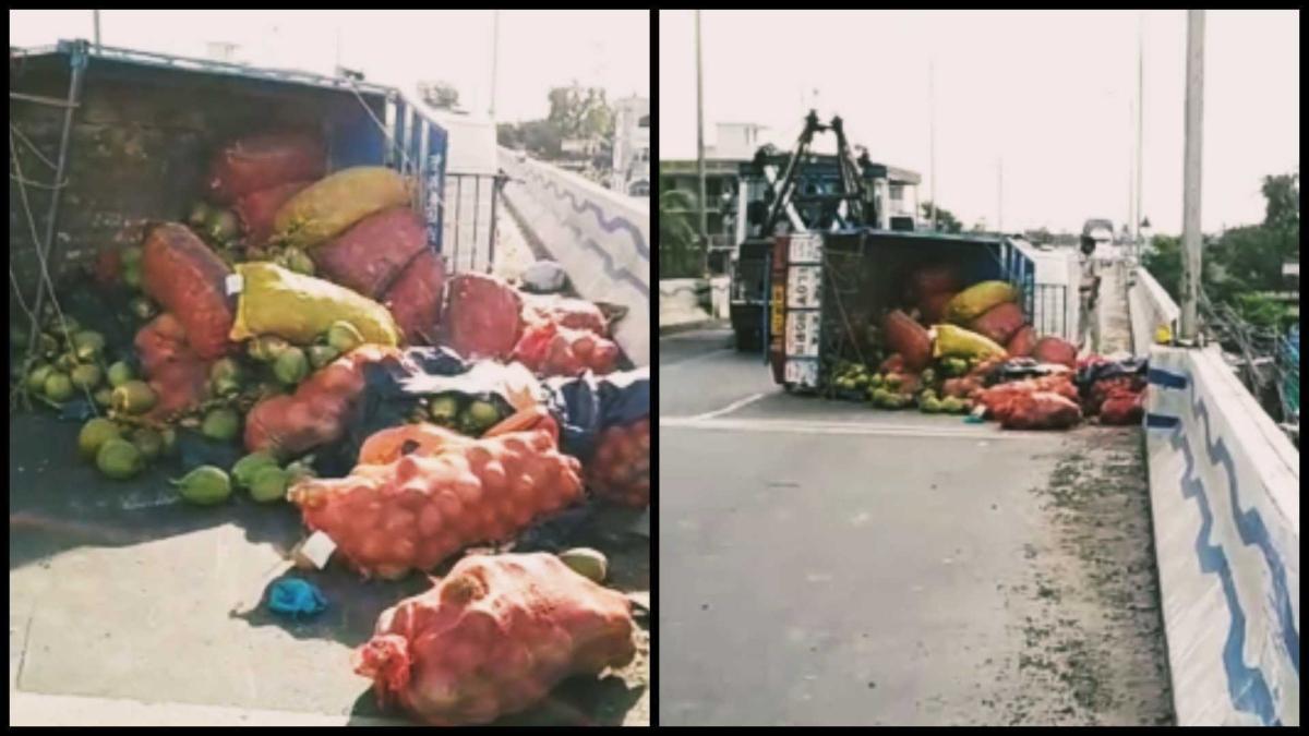 Kolkata: Two dead as the matador overturns in Maheshtala