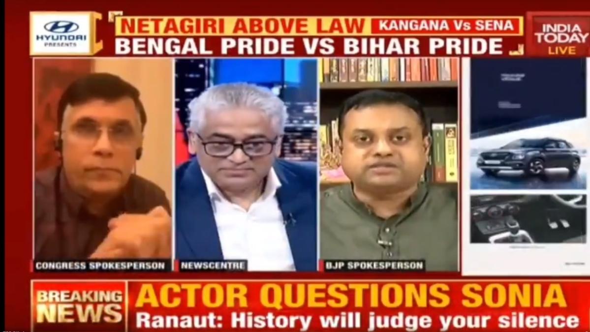 Watch: Sambit Patra calls Rajdeep Sardesai 'Congress Chamcha' amid LIVE debate