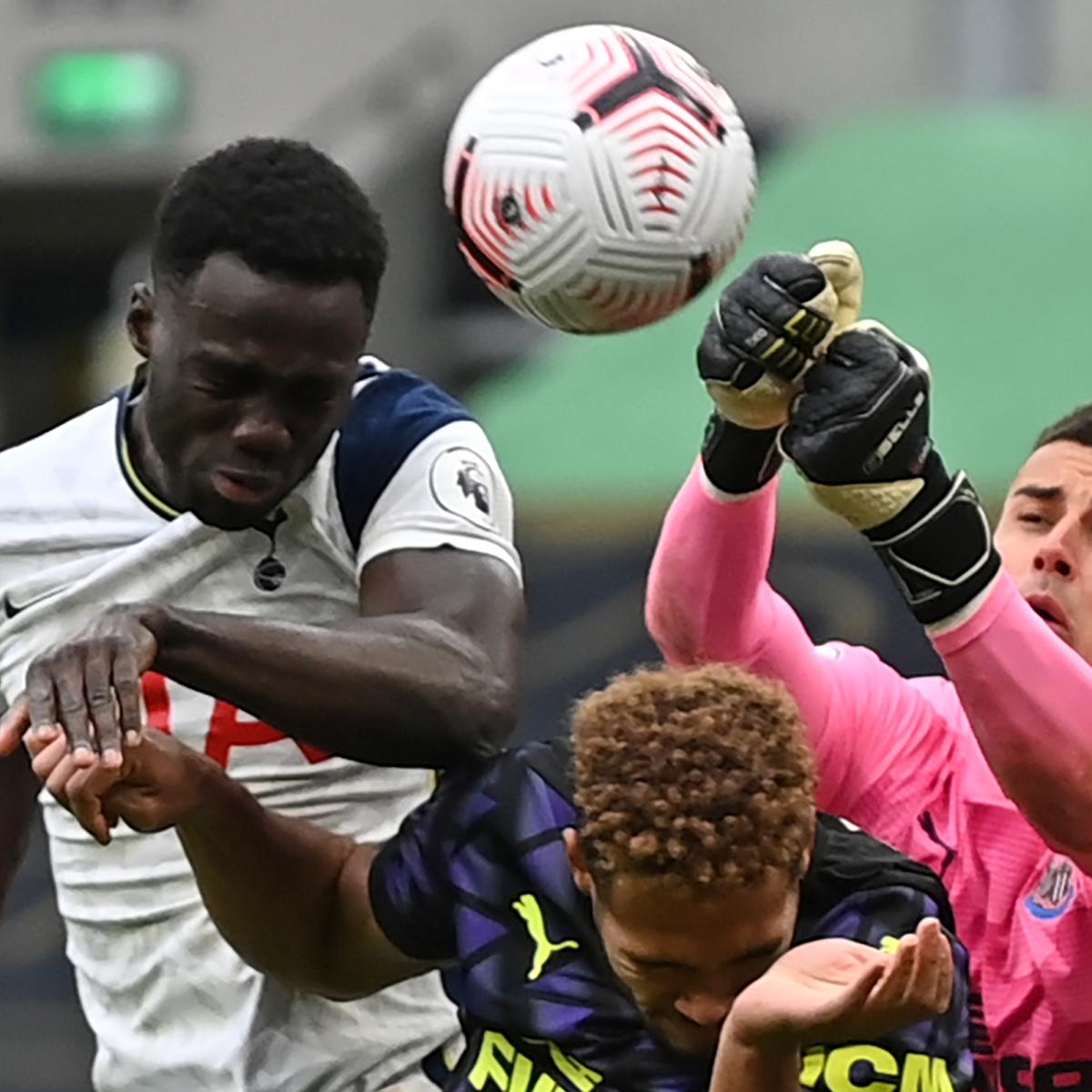 Premier League: Tottenham Hotspur falls foul of handball rule to draw with Newcastle United