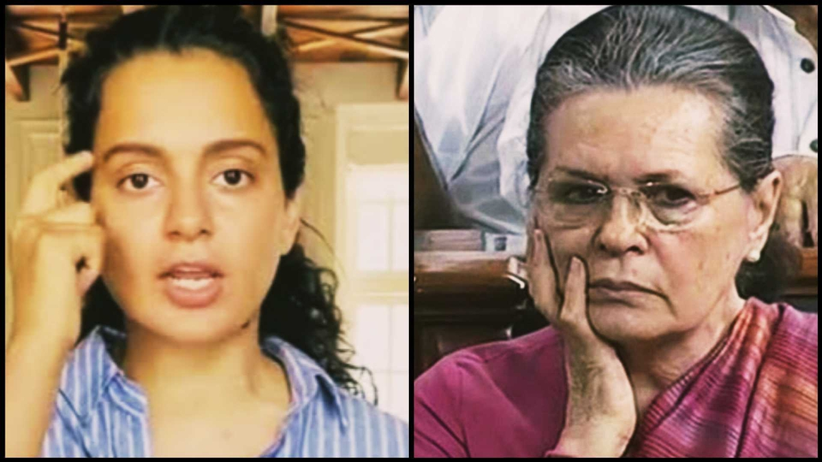 Aren't you anguished by treatment I am given by your govt in Maharashtra: Kangana to Sonia Gandhi