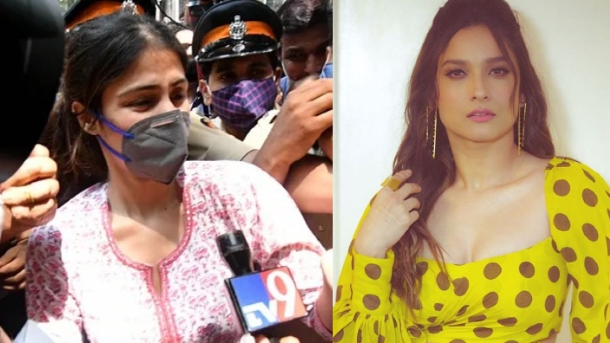 'Would anyone, who loved someone, allow them to consume drugs': Ankita Lokhande on Rhea Chakraborty's arrest