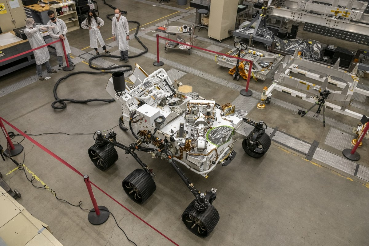 Perseverance Mars rover's twin ready to roll on Earth: NASA