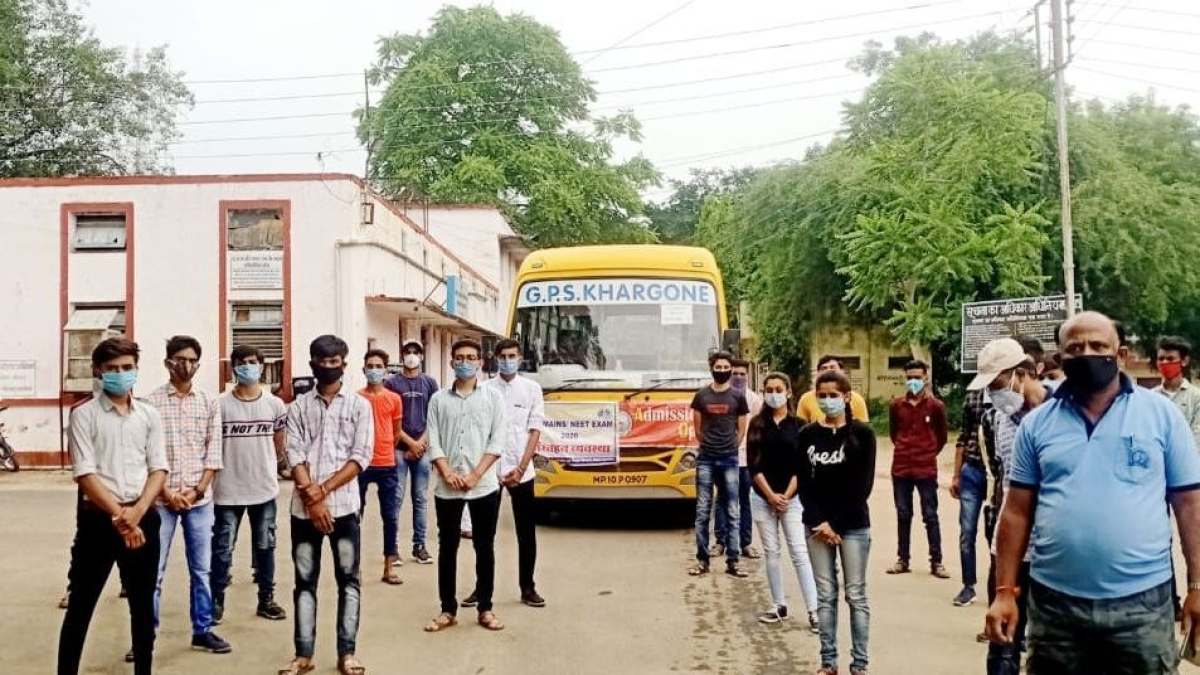 Indore: JEE-Mains candidates recount their exam day experience