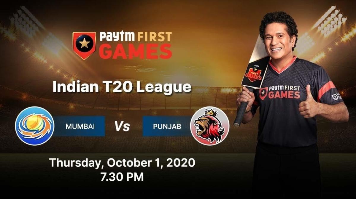 Punjab vs Mumbai: Paytm First Games Fantasy Prediction: Indian T20 League