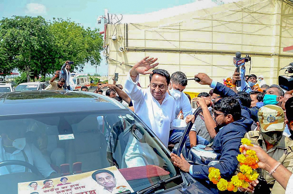 Madhya Pradesh bypolls: Election Commission strips Kamal Nath of his 'star status'