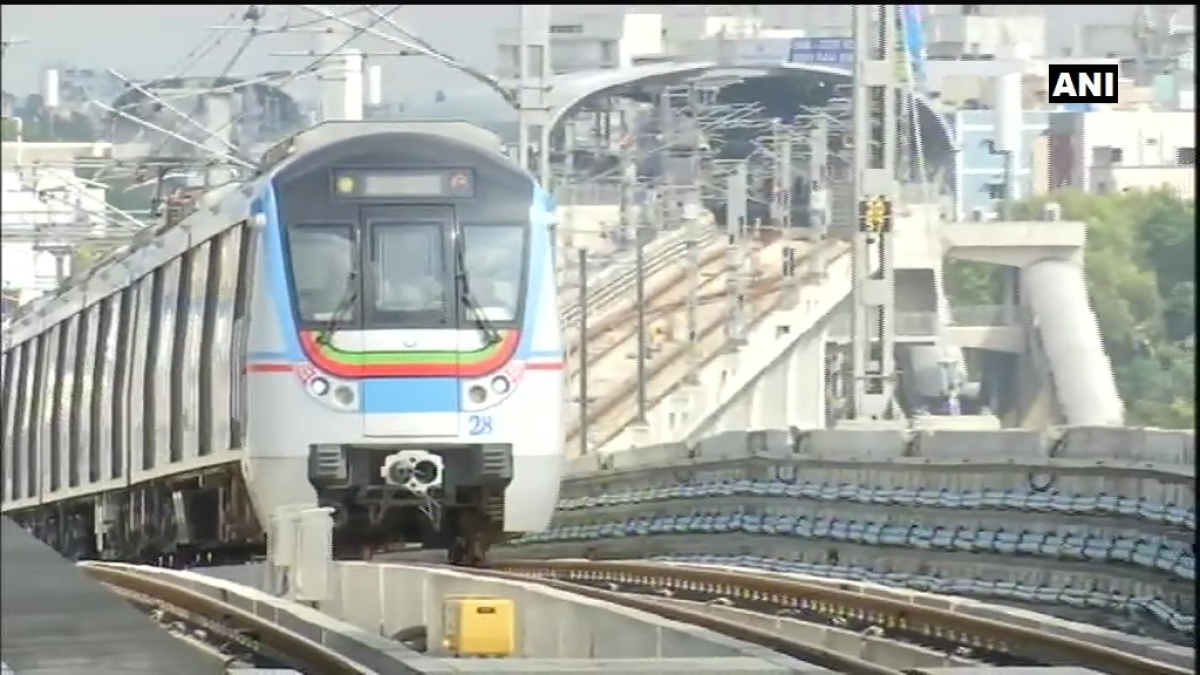 Telangana: Hyderabad metro services resume after Centre's UNLOCK4 guidelines.