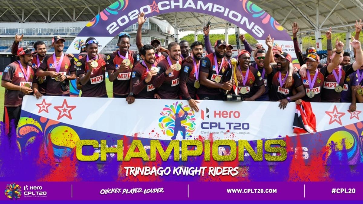 CPL 2020 final: Pollard, Simmons shine as Trinbago Knight Riders defeat St Lucia Zouks