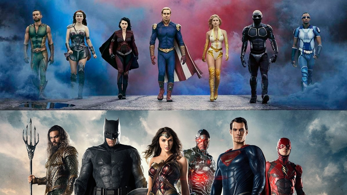 An incomplete list of 'The Boys' supes and their Marvel, DC counterparts