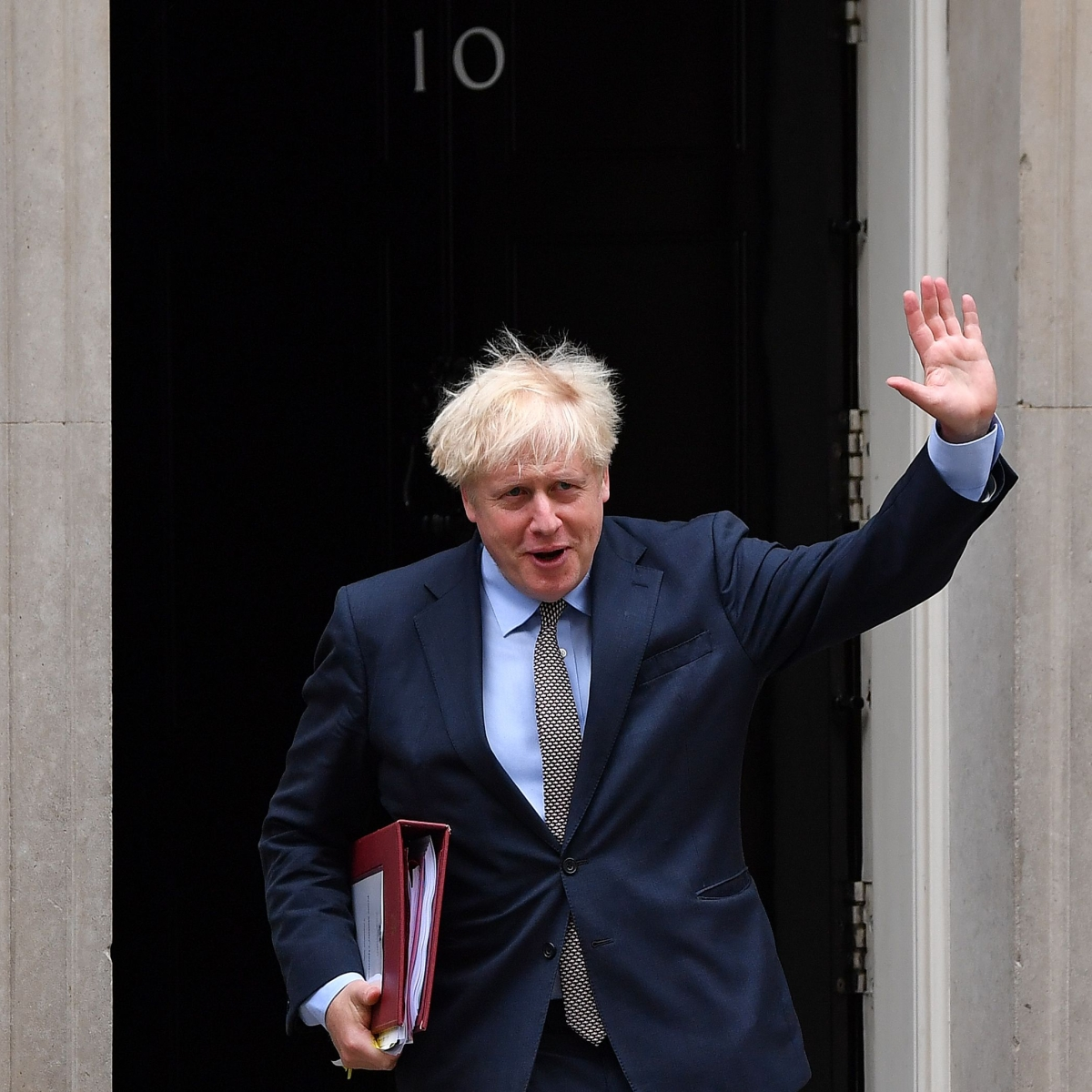 British PM Boris Johnson holds talks with rebels over Brexit Law