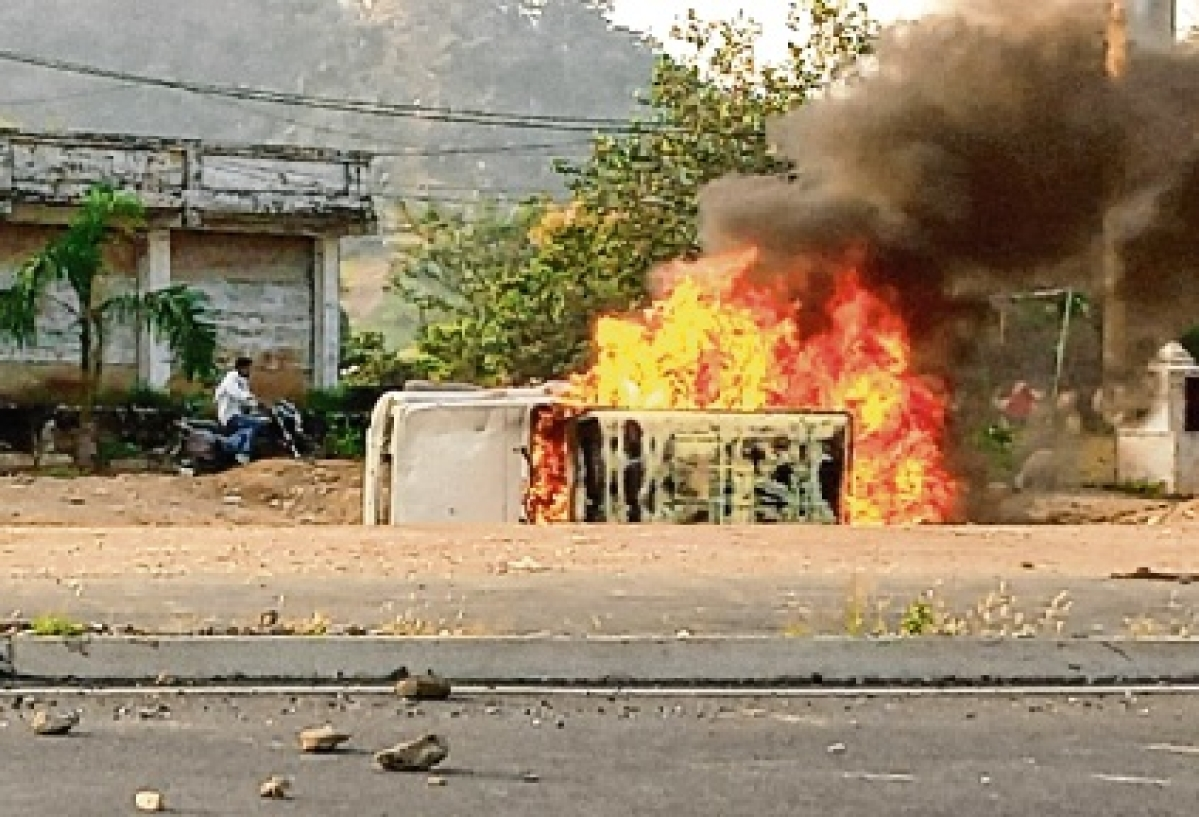 Dungarpur violence escalates