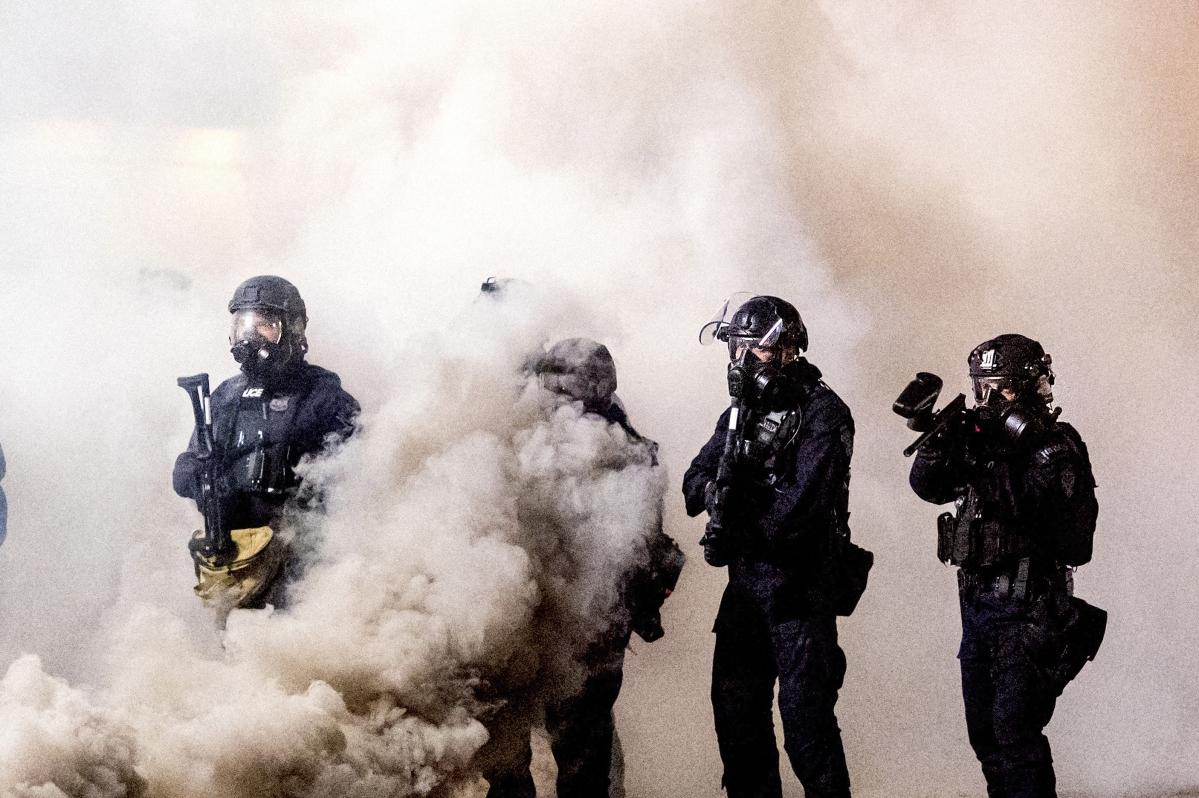 Portland police can no more use tear gas