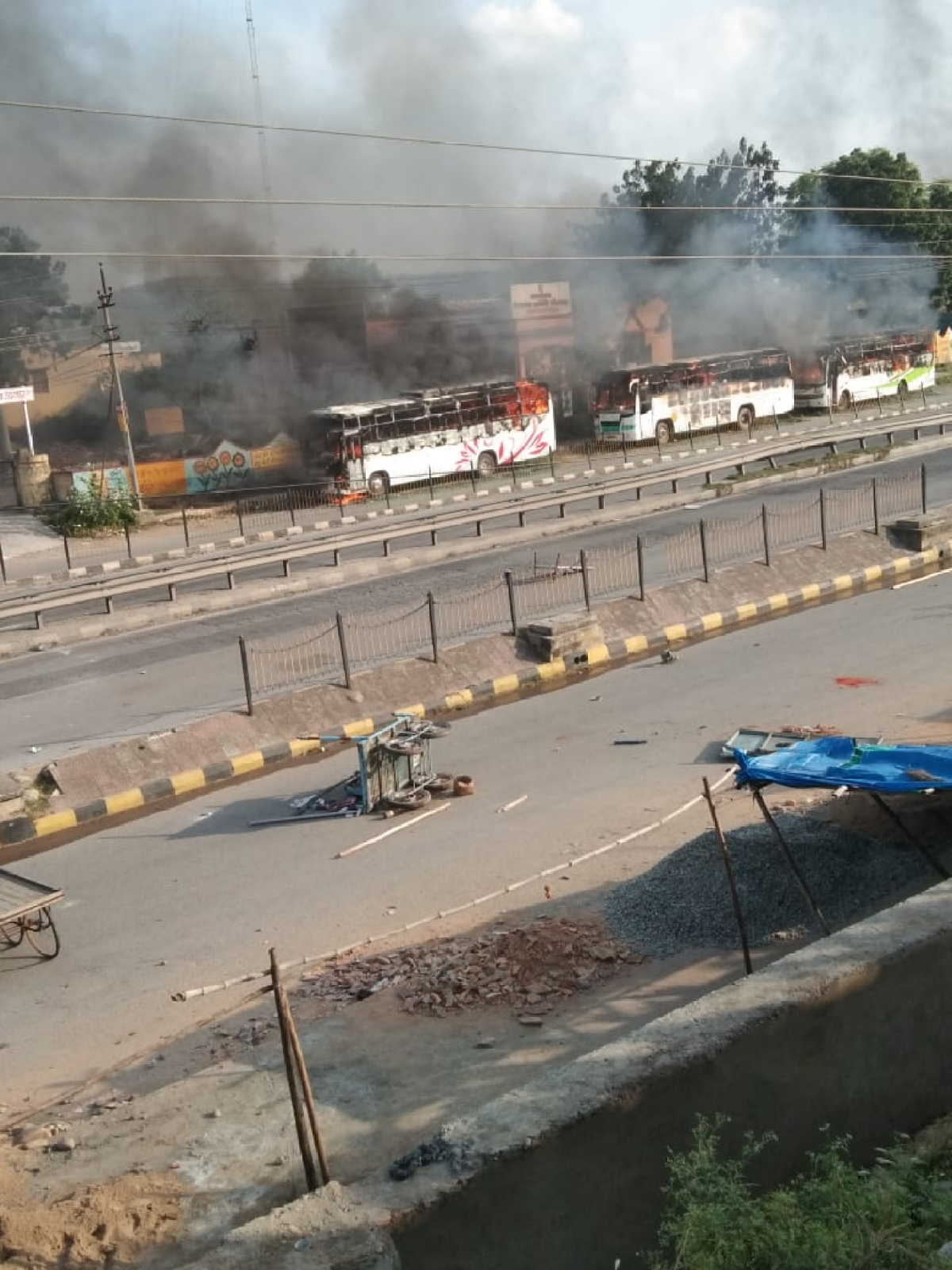 Rajasthan: Protesters indulge in arson and loot, STF called in to control situation in Dungarpur