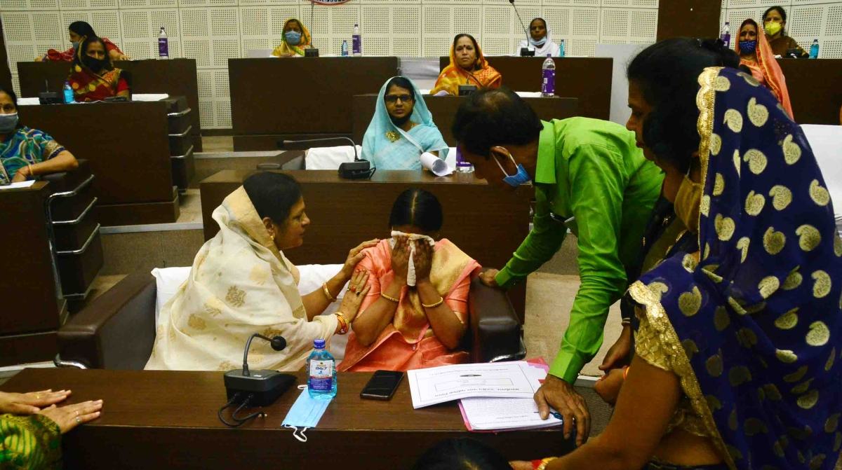 Ujjain: Teary eyed mayor pours her heart out on last day of tenure