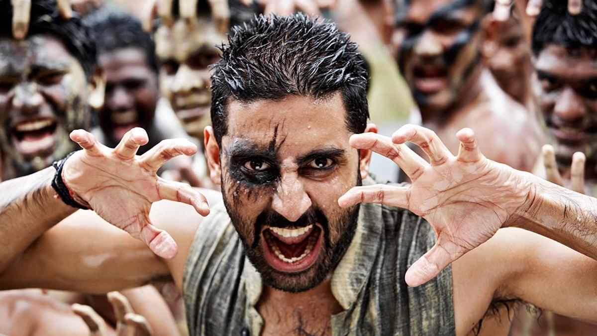 A still of Abhishek Bachchan in 'Raavan'