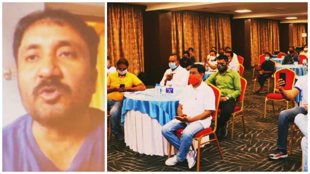 Indore: Super 30's Anand Kumar addresses online session