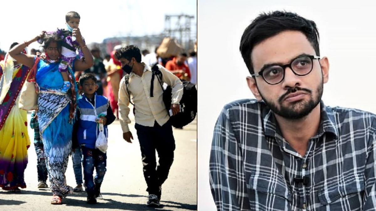 11 lakh pages on Umar Khalid, nothing on migrant deaths: Twitterati pan Govt's 'priorities'