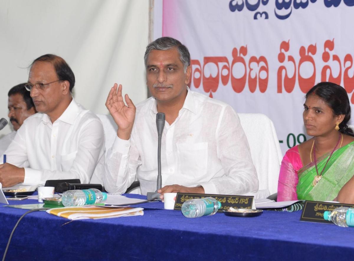 Telangana Finance Minister Harish Rao tests positive for COVID-19