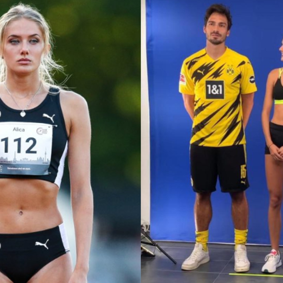 Who is Alica Schmidt? Dortmund's new fitness coach is also the 'World's Sexiest Athlete'