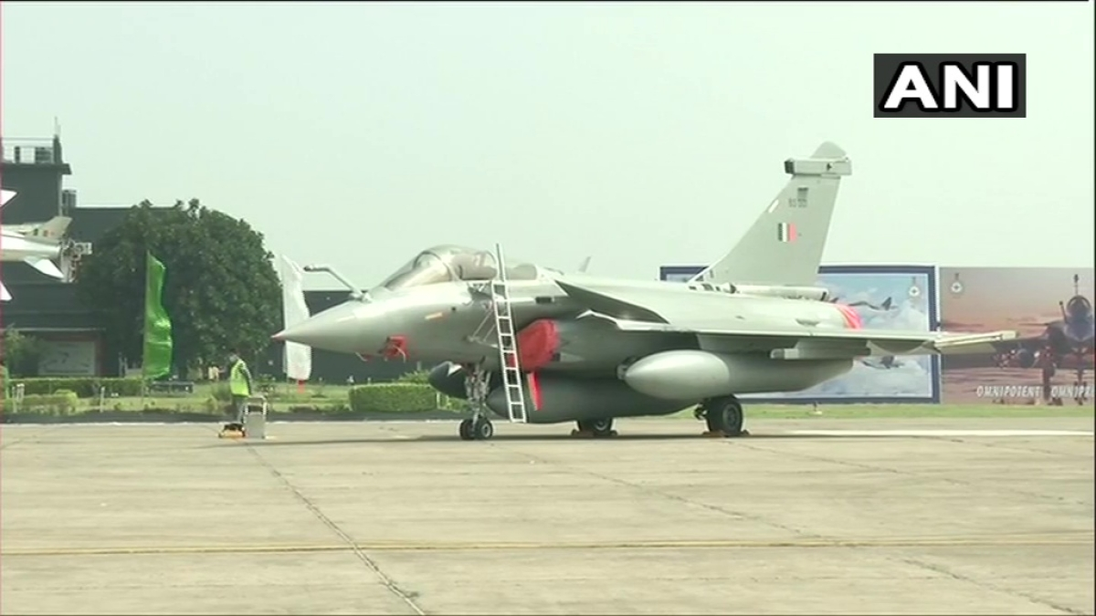 In Pictures: 5 Rafale jets inducted into IAF at ceremony in Ambala air base