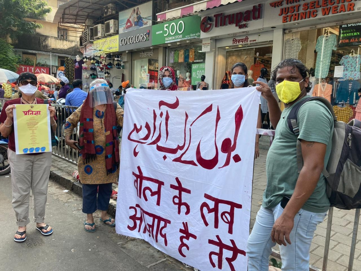 Remembering Gauri Lankesh: Voices protest against the injustice