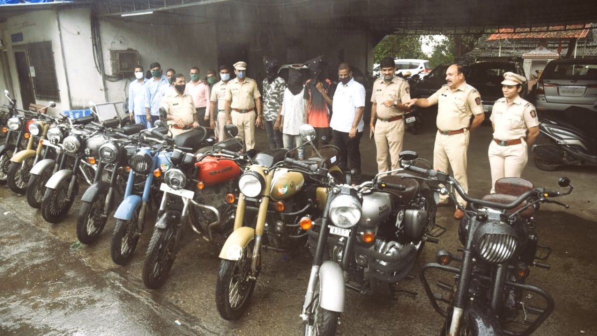 Thane: Three arrested for stealing bikes; cops seize ten Royal Enfields