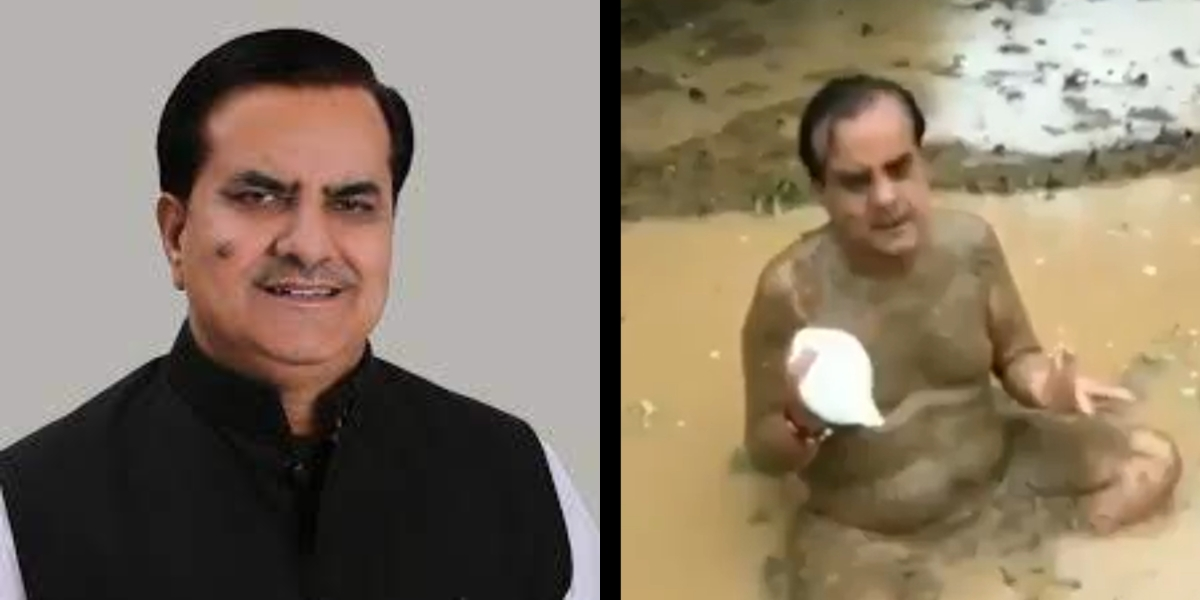Remember the conch-blowing, mud-bath enthusiast BJP MP Sukhbir Jaunapuria? He tested positive for COVID-19