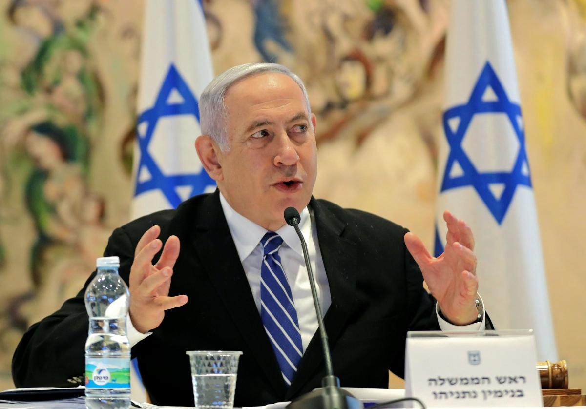Netanyahu accuses Hezbollah of having secret arms depot in Beirut