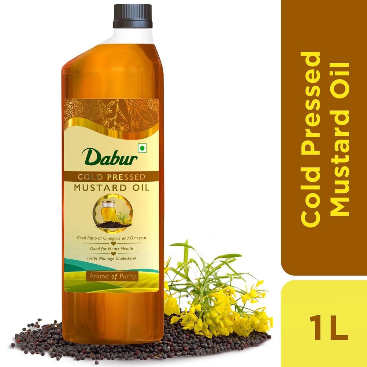 Dabur enters edible oil segment with 'Dabur Cold Pressed Mustard Oil'