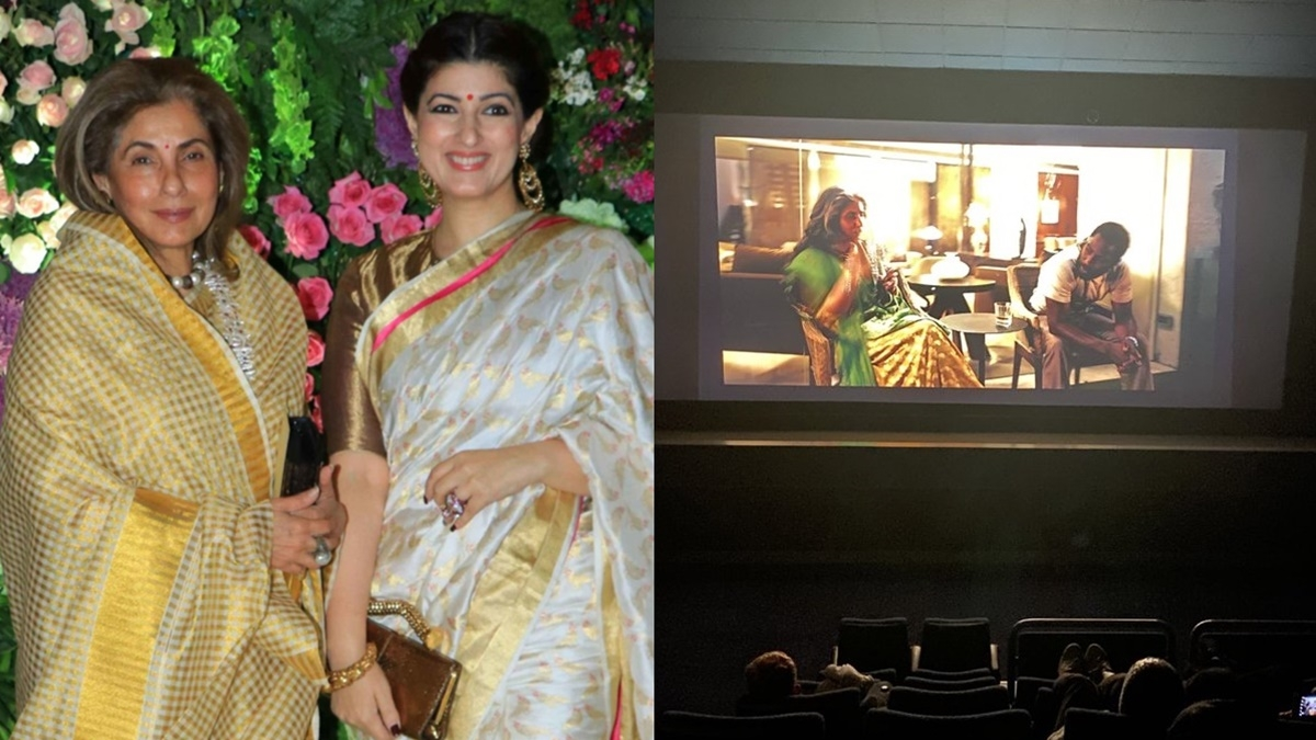 Twinkle Khanna is all praises for mom Dimple Kapadia after watching 'Tenet'