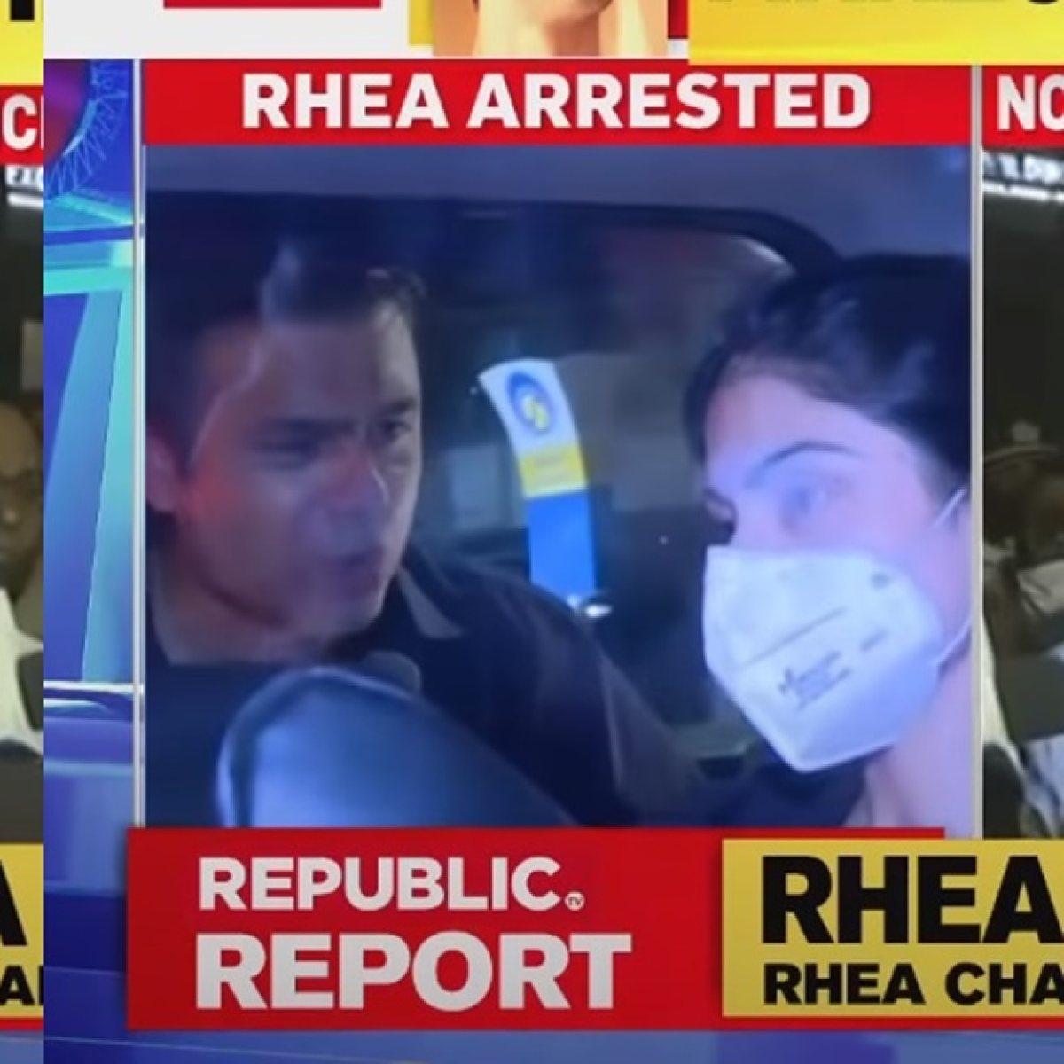 'Madam byte de do nahi toh seth maarega': Video of Republic TV reporter hounding Rhea post-arrest gets a hilarious twist