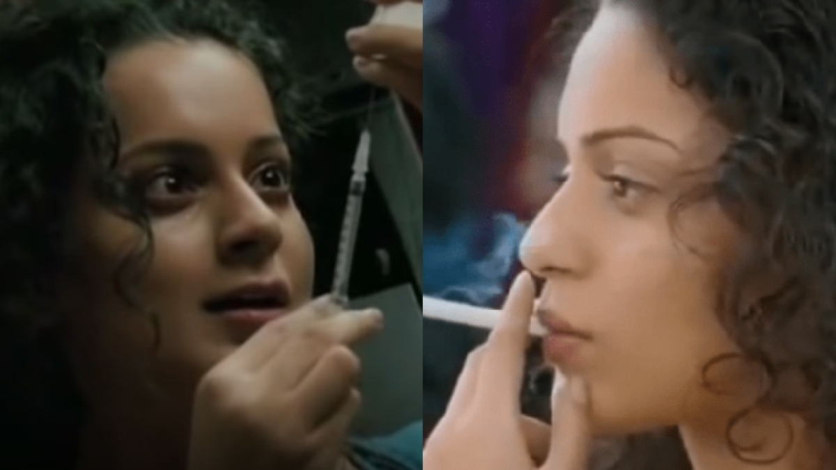 Watch: Kangana Ranaut's video confessing she was a 'drug addict' goes viral; netizens tag Mumbai Police