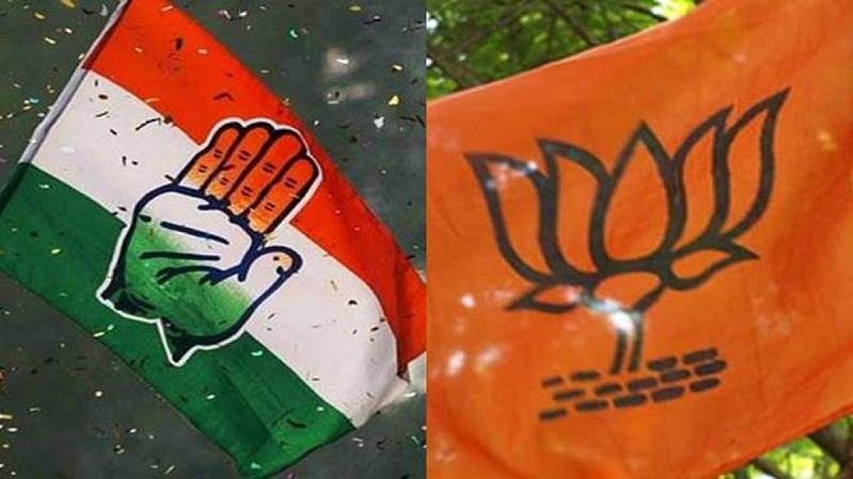 Madhya Pradesh bypolls: Congress slogan, symbol on cow gets BJP angry