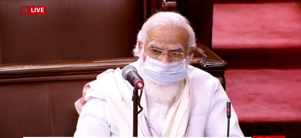 Parliament monsoon session latest updates: His unbiased role strengthens our democracy, says PM Modi on  Harivansh's election as RS Dy Chairman