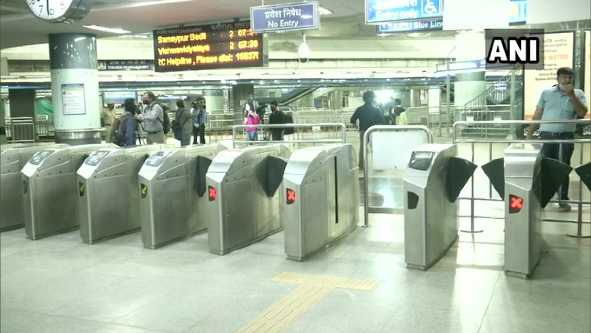 Delhi Metro has resumed services from 7 am today.