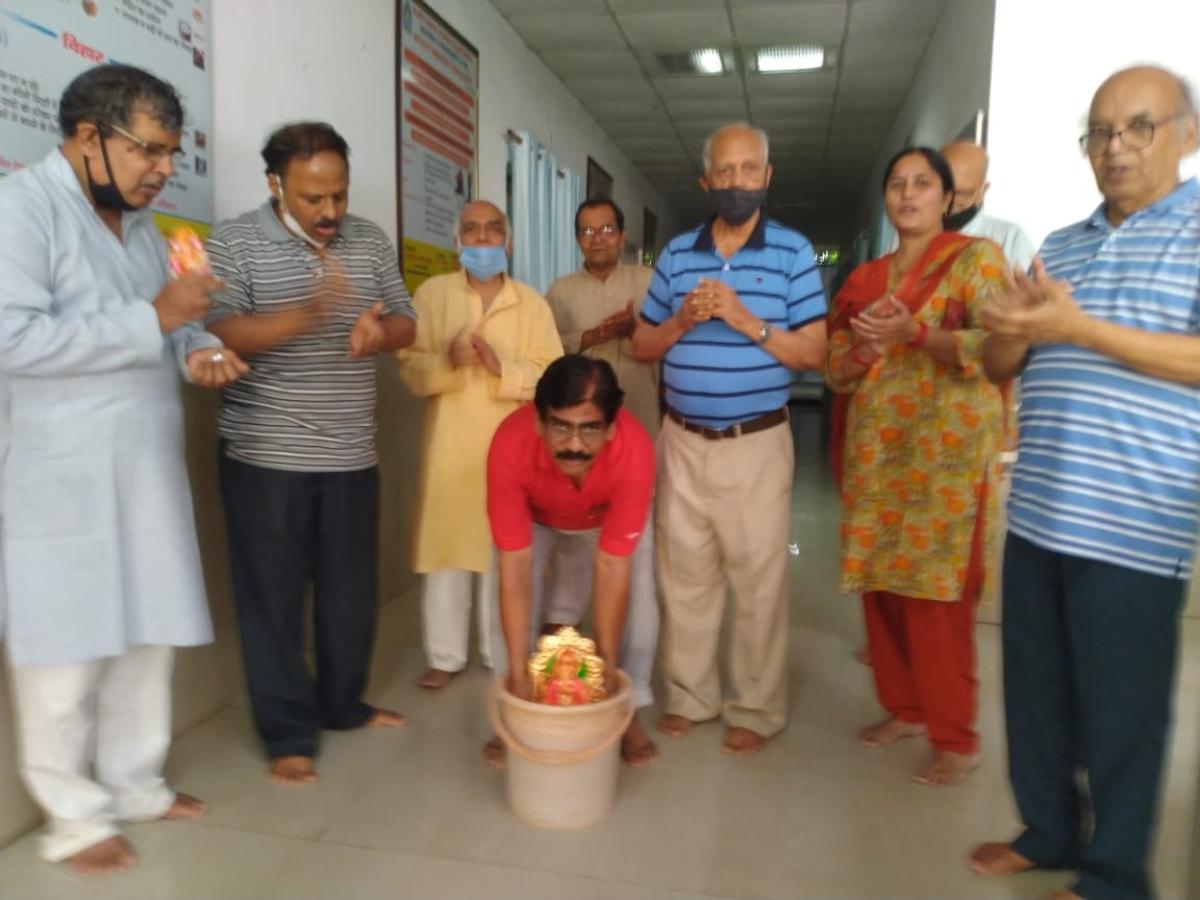 Bhopal: Apulki Maharashtra Mandal's eco-friendly Ganesh Visarjan