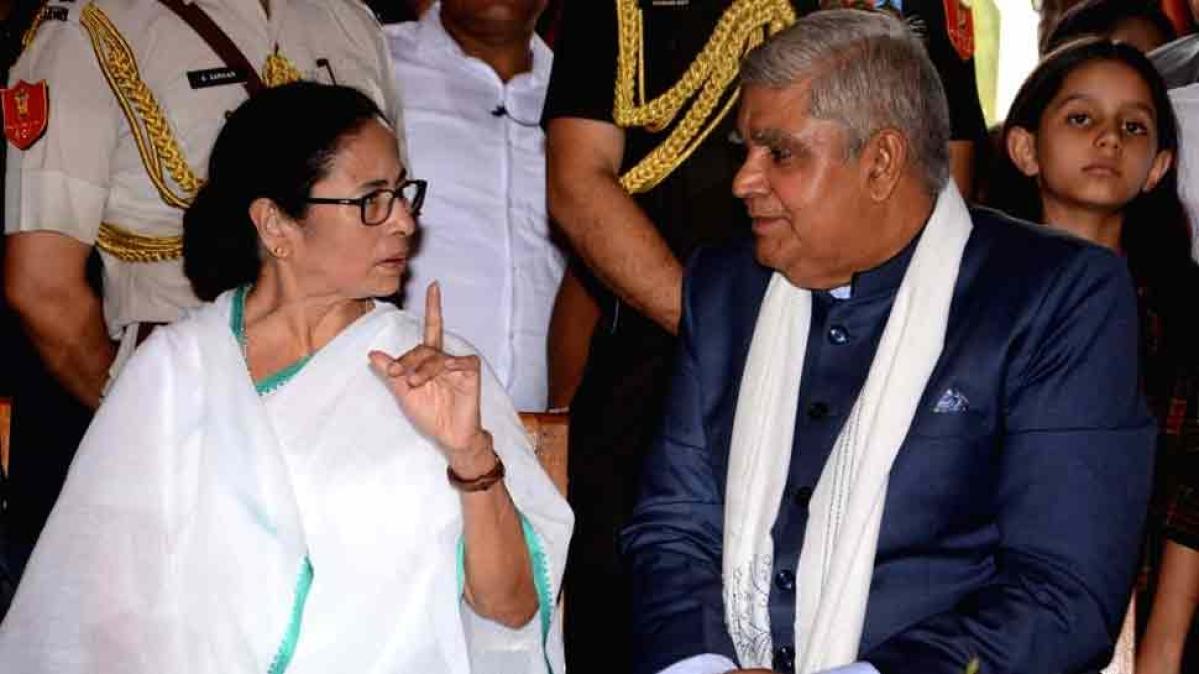 West Bengal: CM Mamata Banerjee cries foul over Guv Jagdeep Dhankhar's visit to Delhi