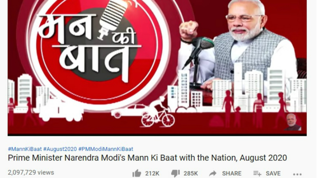 #TeamBaan: Twitter army behind dislikes on PM Modi's YouTube videos, and much more