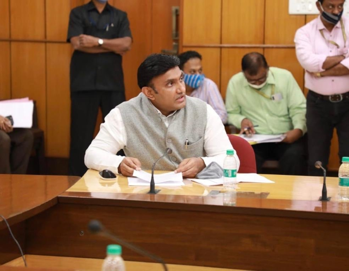Karnataka minister K Sudhakar bats for cow slaughter ban