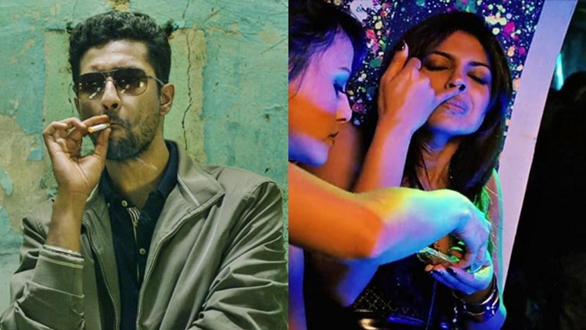L - Vicky Kaushal in 'Raman Raghav 2.0', R - Priyanka Chopra in 'Fashion'