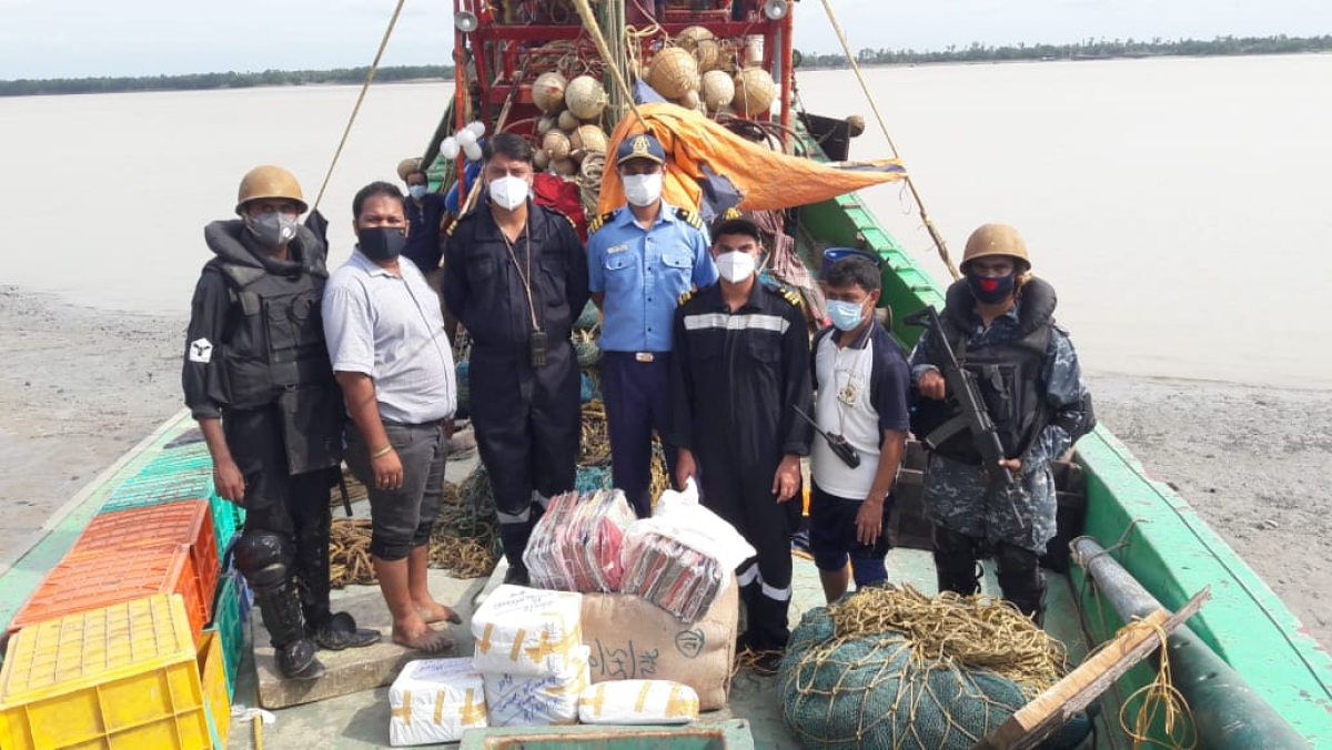 ICG apprehends fishing boat involved in smuggling