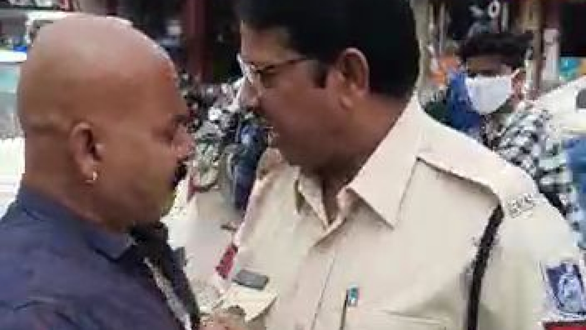 Indore: Cop suspended, IMC employee removed from all duties after public brawl video goes viral